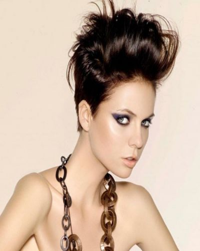 Half Shaved Hairstyles - New Trends in Hair Fashion