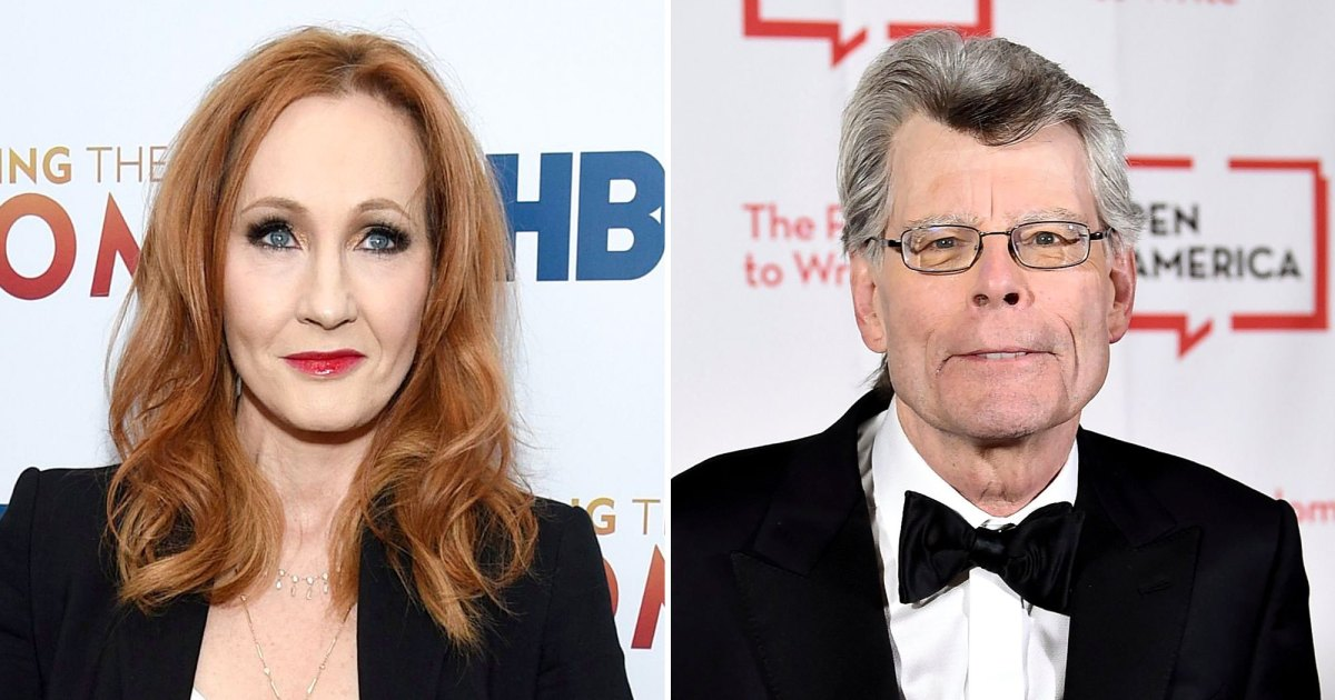 J.K. Rowling Deletes Candy Stephen King Tweet After He Supports Trans Ladies