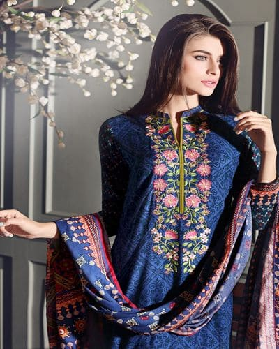 Gul Ahmed Winter Collections – Lawn Lovers – Pakistani Dresses