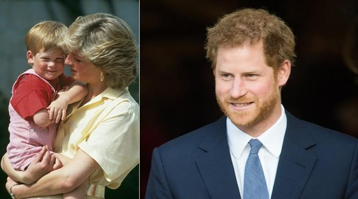 Prince Harry holding the spirit of Woman Diana alive though charity