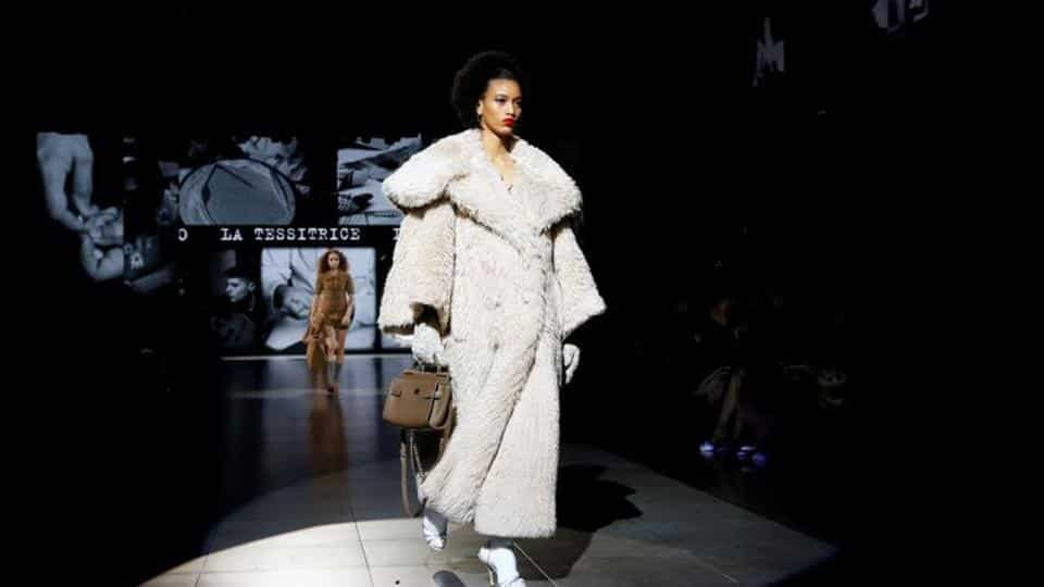 Masked fashionistas and distant models, D&G launches the Covid-era catwalk