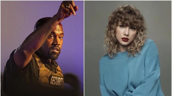Kanye West wages war on Taylor Swift once again with 'snake' dig