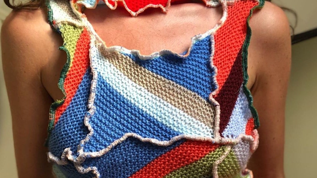 The Patchwork Top Has Become The Summer Lockdown Look