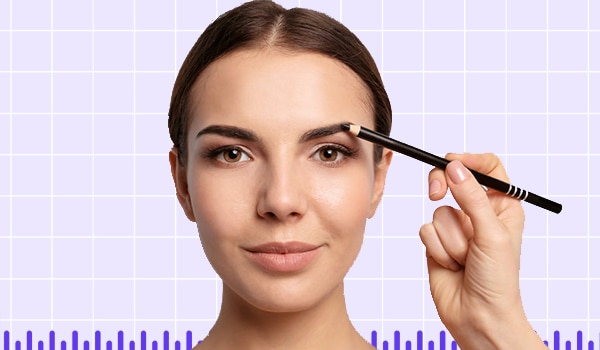 Eyebrow pencil tips for youthful-looking brows