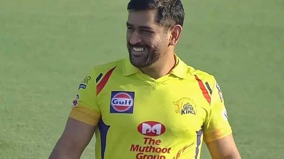 Dhoni's beard style and biceps capture IPL viewer's imagination