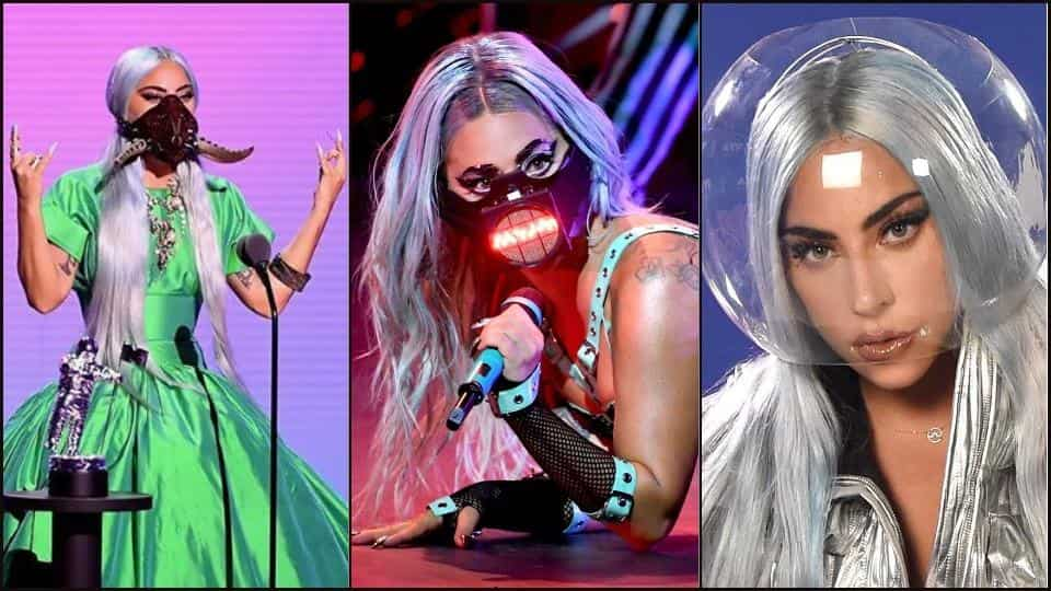 Lady Gaga's OG face masks steal the show at Video Music Awards
