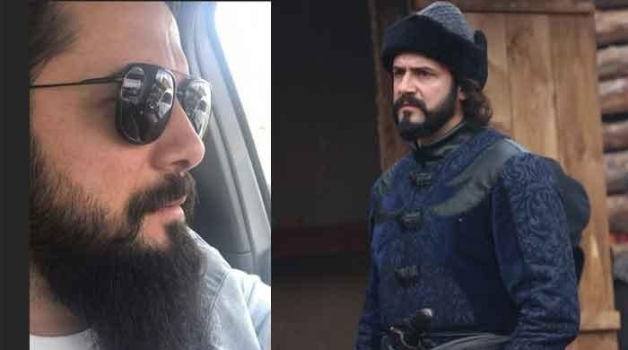 Ertugrul's Aliyar Bey looks dashing in latest pictures