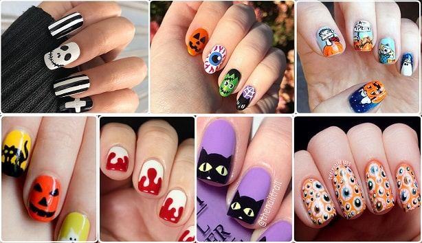 Stitched-Up Nail Art Tutorial For Halloween